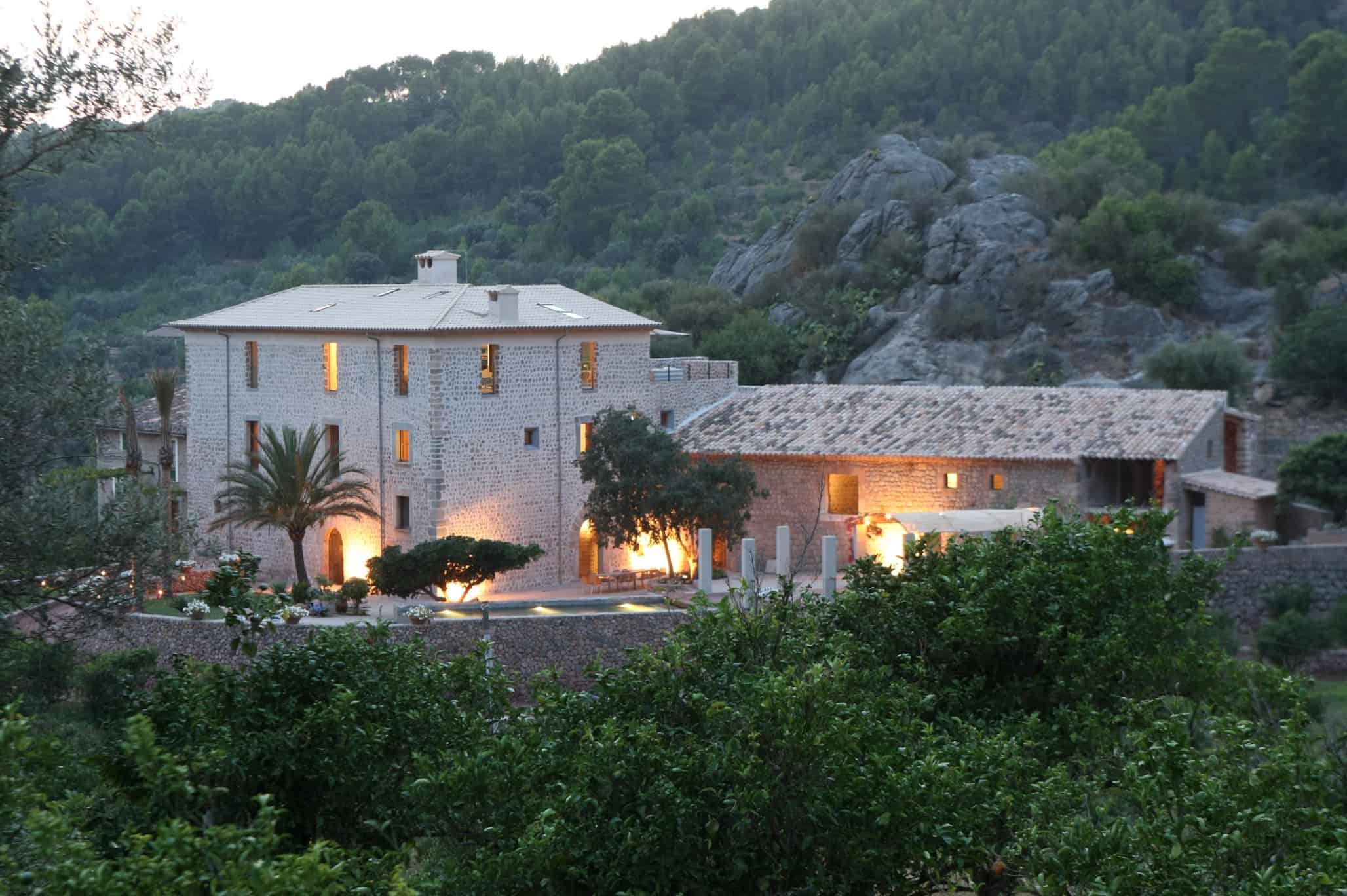 Rental Mallorca - 6 Bedrooms - Balearic Bliss - Casa Hidalgo - outside lighting