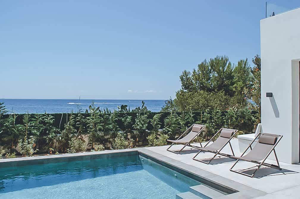 Villa Rental Ibiza - 4 bedrooms - Can Aria - Balearic Bliss - pool and sea view