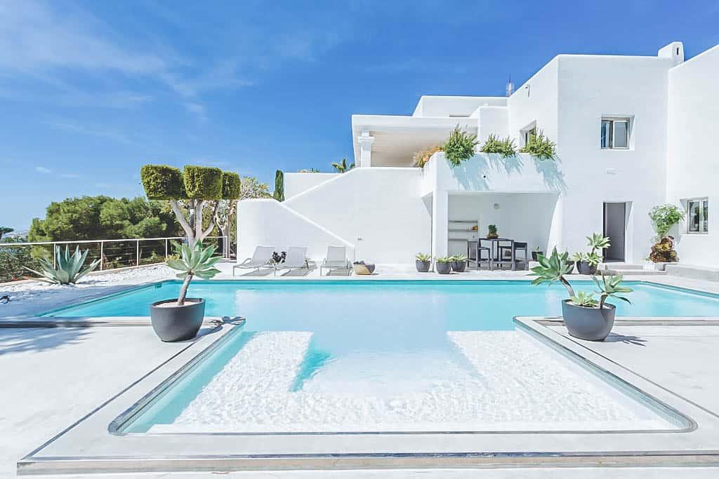 Villa Rental Ibiza – 5 bedrooms – Can Nala -Balearic Bliss – pool and villa