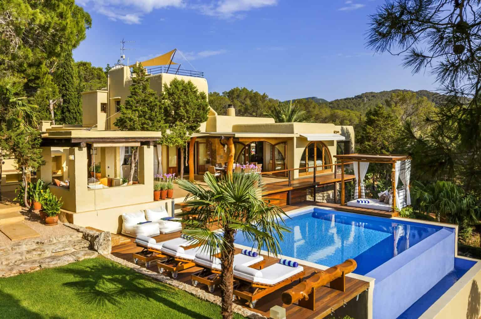 villa rental in ibiza with 4 bedrooms can elengeni balearic bliss