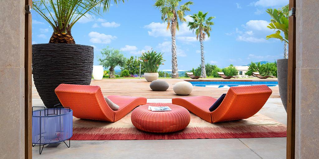 Villa Rental in Mallorca - 5 Bedrooms - Balearic Bliss - Can Vi Dalt - Moscari - sunbeds