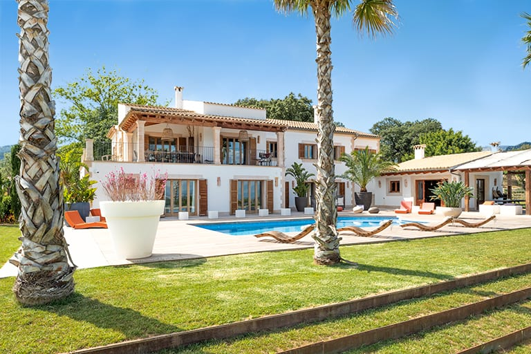 Villa Rental in Mallorca - 5 Bedrooms - Balearic Bliss - Can Vi Dalt - Moscari - villa view